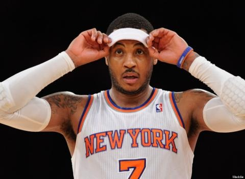 News video: Rapper Lord Jamar Says Carmelo Anthony May Be A Five Percenter
