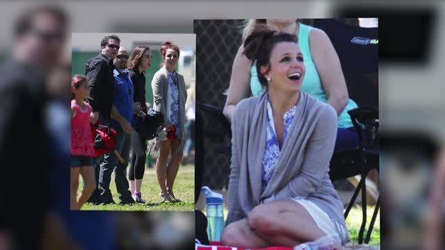 News video: Britney Spears es mamá futbolista
