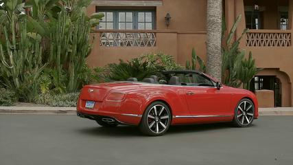 News video: Bentley Continental GT V8 S Convertible - St James Red